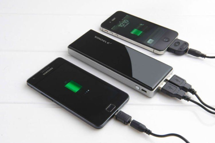 Charger smartphone
