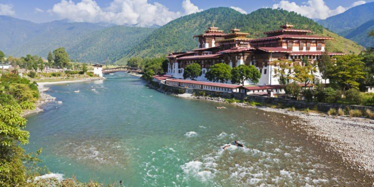 Cantiknya Bhutan..