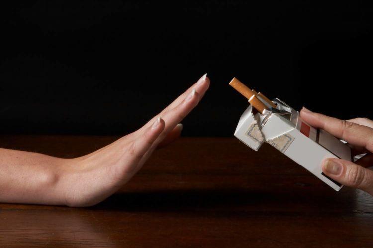 tinggalkan merokok