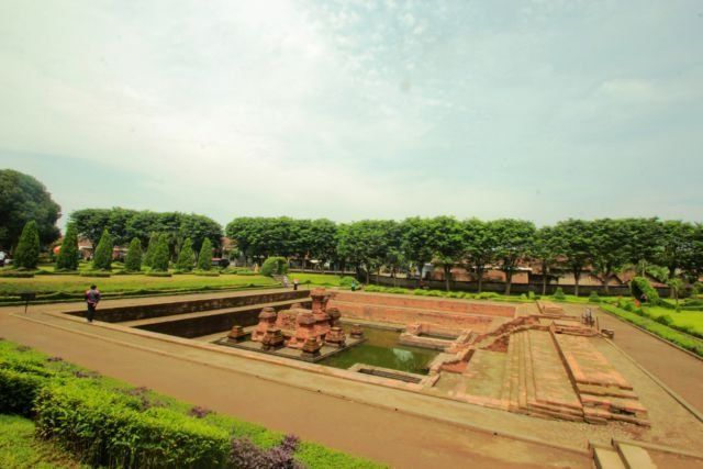 Kolam Segaran di era Majapahit