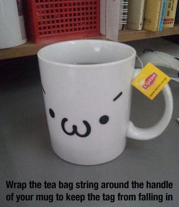 Biar nggak jatuh kantong tehnya
