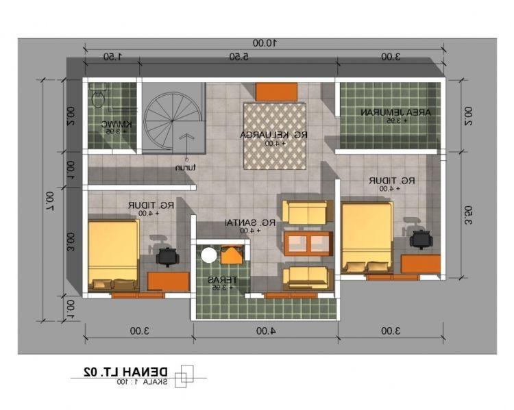 16 Denah Rumah Minimalis 2 Kamar Tidur Desain Rumah Modern Di Denah Rumah Minimalis 3 Kamar Tidur - Rumah Idaman