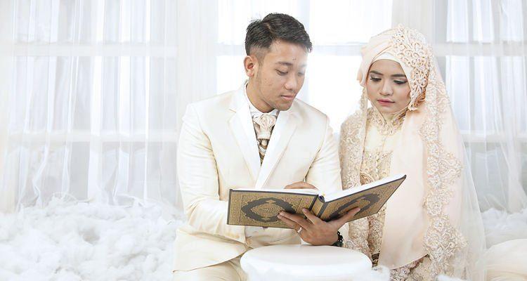 Pernikahan Muslim Tapi Tidak Melupakan Adat