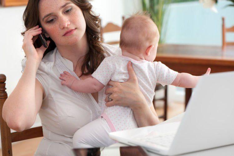 Kerja dan ngurus anak bisa bareng kok