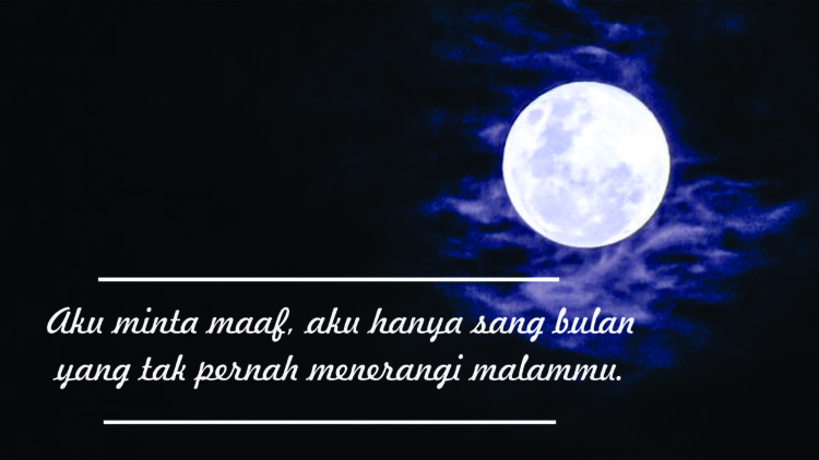 Menerangi malammu~