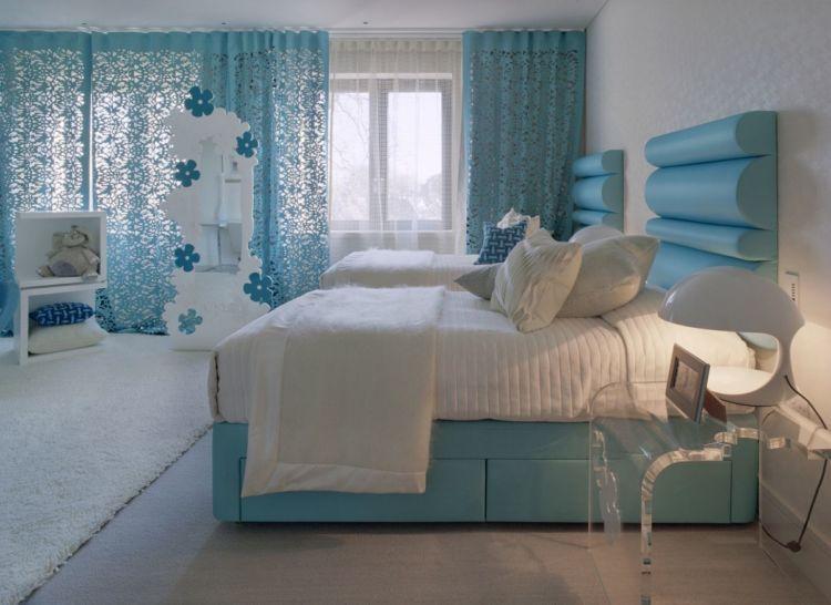 kamar bernuansa biru