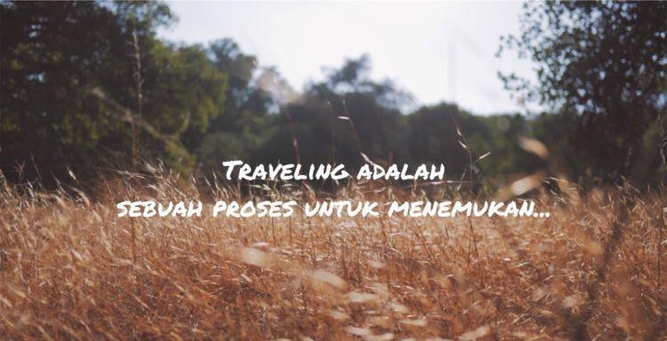 traveling berarti menemukan