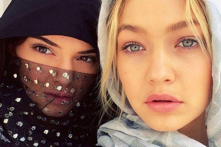 pakai hijab di abu dhabi nih