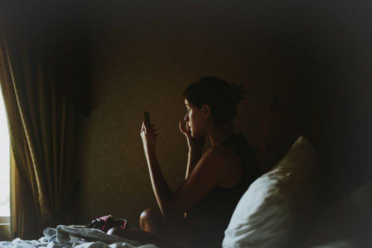 kesepian sendiri
