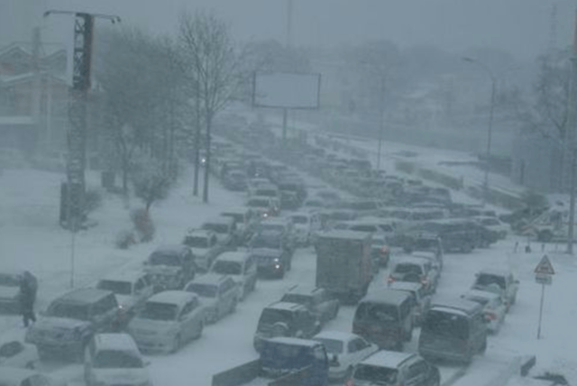Moscow setiap musim dingin