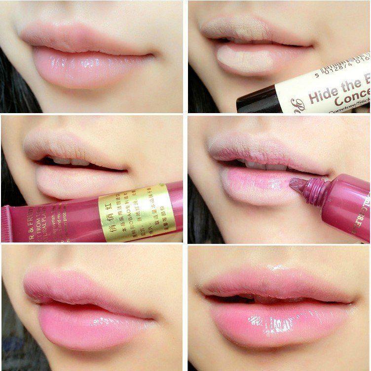 Pakai lipgloss agar terlihat fresh