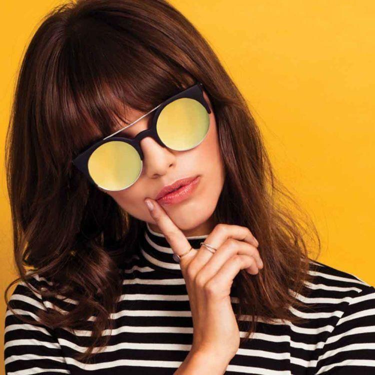 kacamata lensa kuning