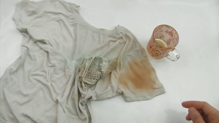 hilangkan noda di baju