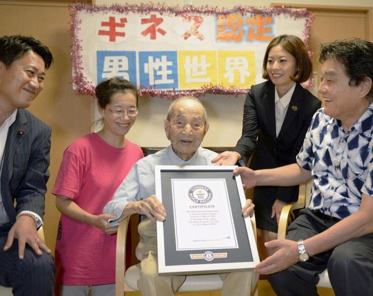 Yatsuro Koide, paling tua di Jepang ya biasanya juga paling tua di dunia