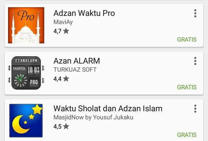 alarm sholat