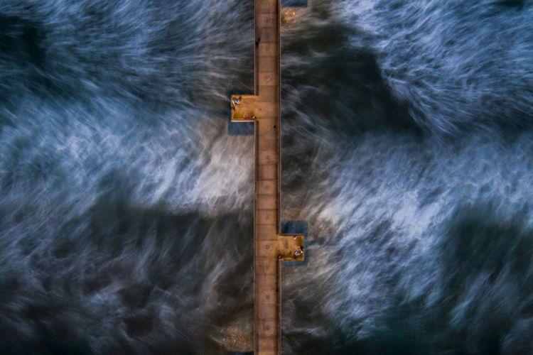 kaya angin, tapi air