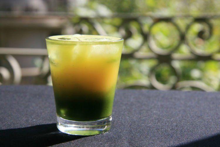 Jus teh hijau