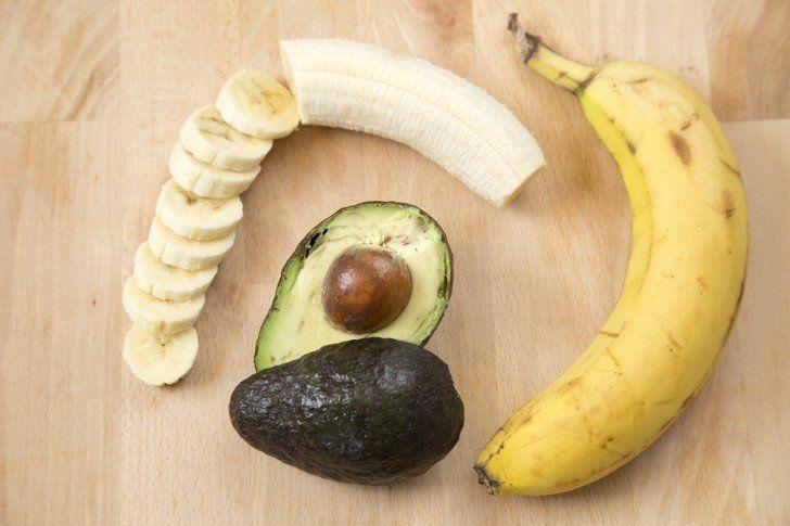pisang & alpukat