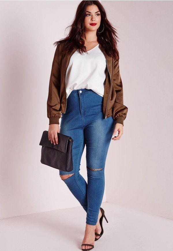 pilih jeans yang sesuai, ya.