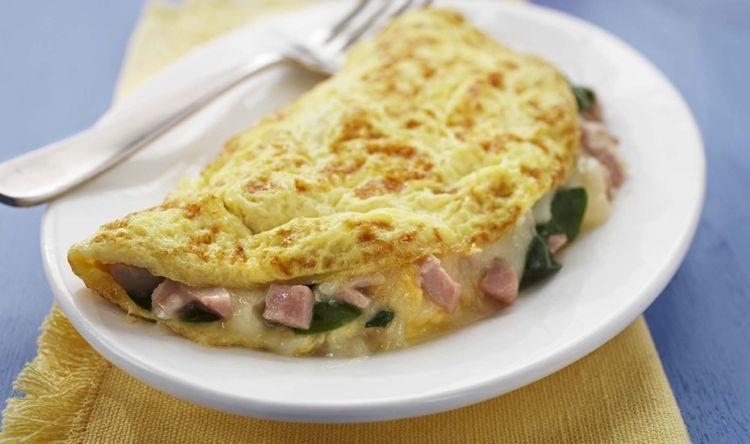 omelet cinta