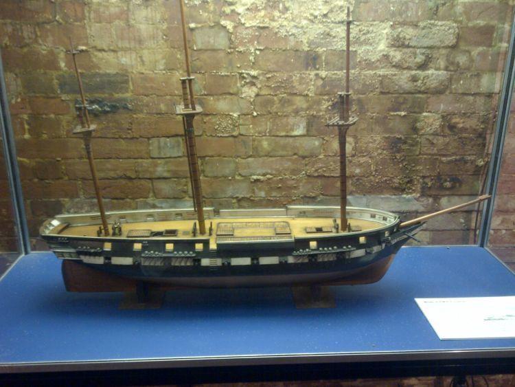 Miniatur HMS Eurydice