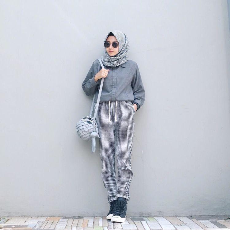 Keburu Dandan Dan Bingung Memilih Pakaian Padu Padan Hijab Dan Kemeja Ini Bisa Jadi Teman