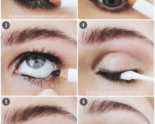 Pencil eyeliner lebih natural dibanding gel eyeliner