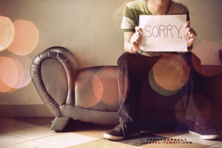 Bilang sorry ada waktunya