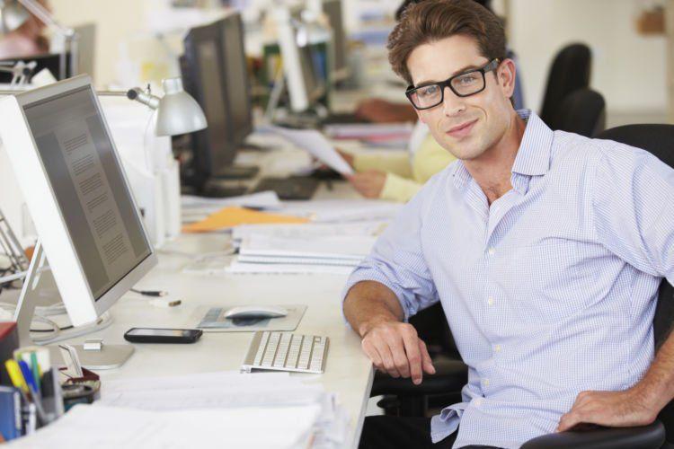 Harus percaya diri kalau urusan kantor
