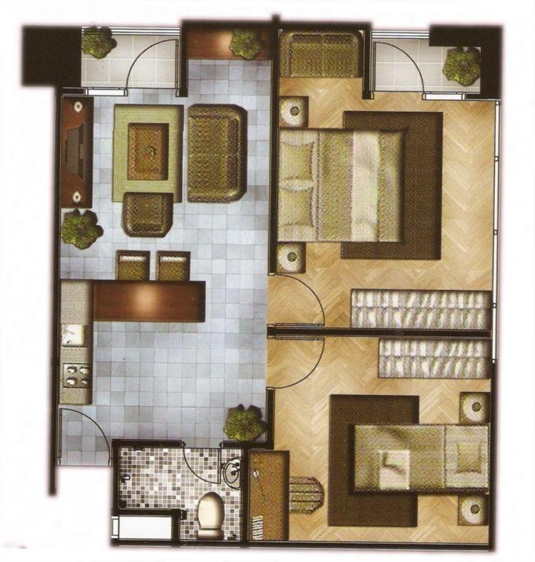 Rumah Sederhana 2 Kamar denah rumah sederhana 2 kamar contoh rumah minimalis - Model Rumah Sederhana