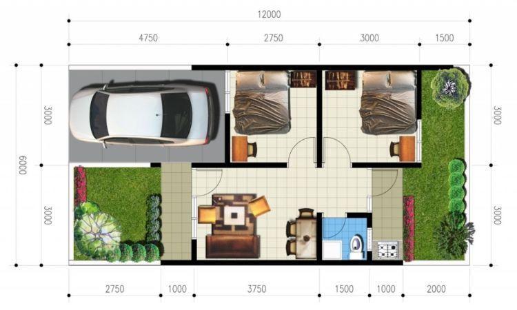 Buat Pasangan Muda Yang Masih Berjuang 10 Desain Rumah Minimalis 2 Kamar Ini Wajib Disimpan