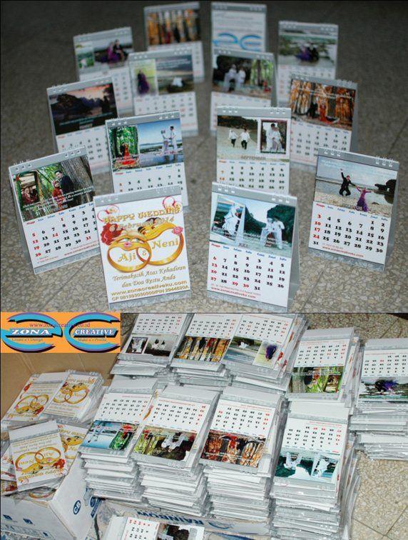 souvenir-nikah-kalender-meja