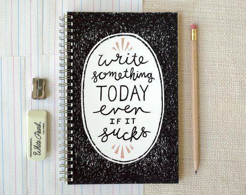 Catat agendamu di notes book gitu. Biar nggak lupa!