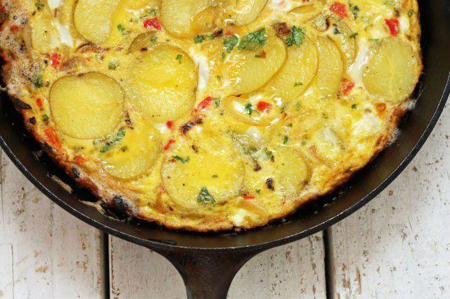 Telur dadar kentang