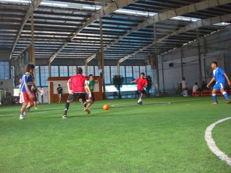 Futsal. Dasar cowok!