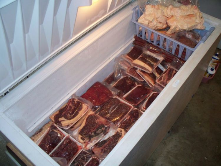 pastikan daging terbungkus plastik