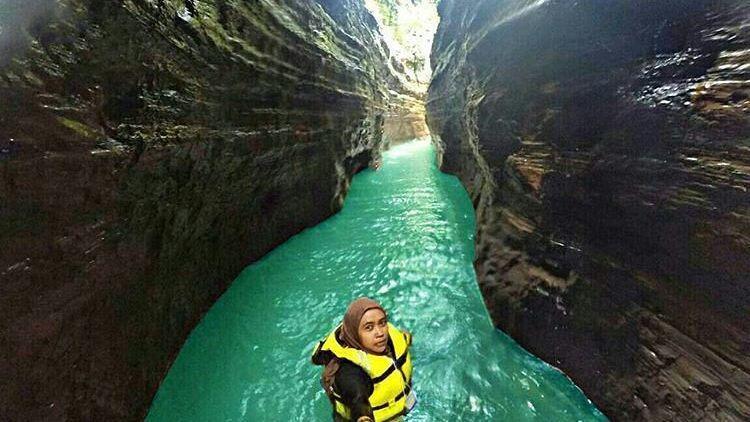 Kenalan Yuk Sama Little Green Canyon Di Banten Curug Putri Tahura