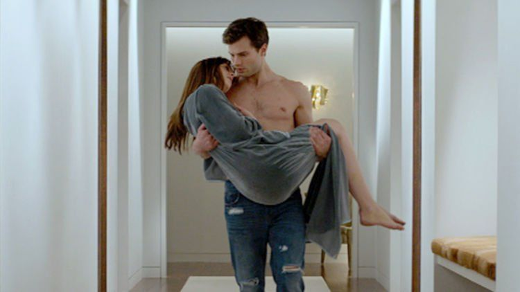 Fifty Shades of Grey full trailer on TODAY