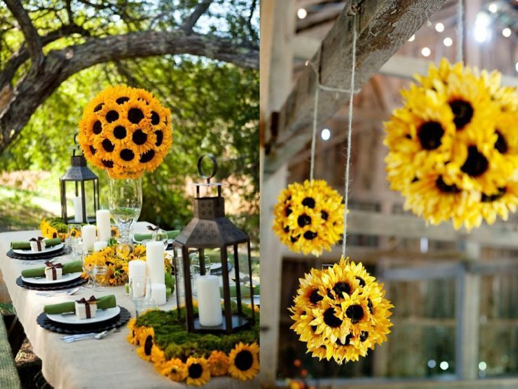 bola bunga matahari