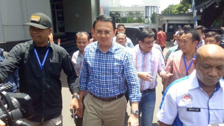 Ahok, mantan Bupati Belitung