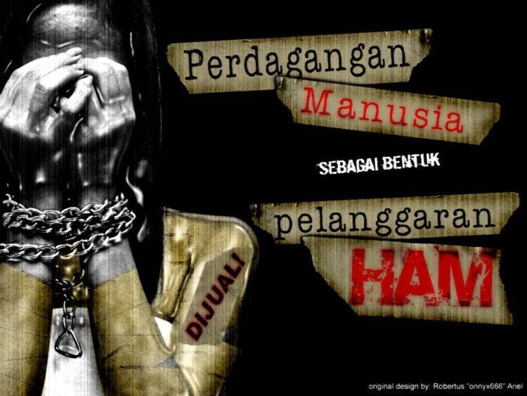 Stop perdagangan manusia!