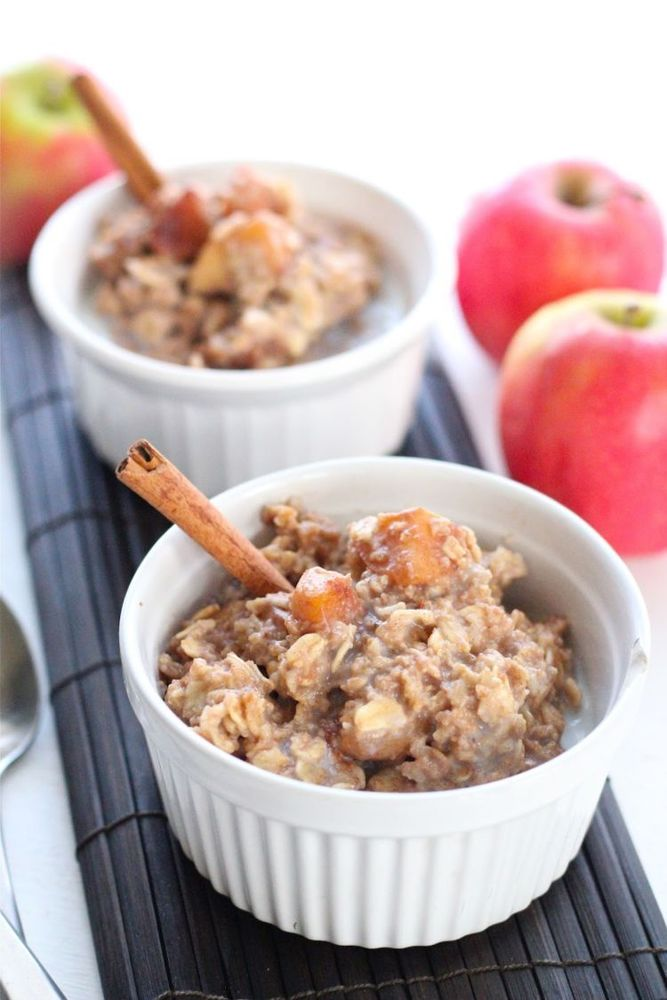 Apple Oat Pie kukus