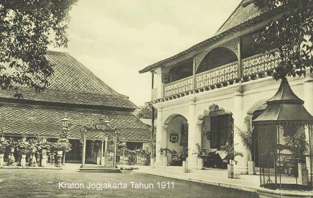 Keraton di tahun 1911