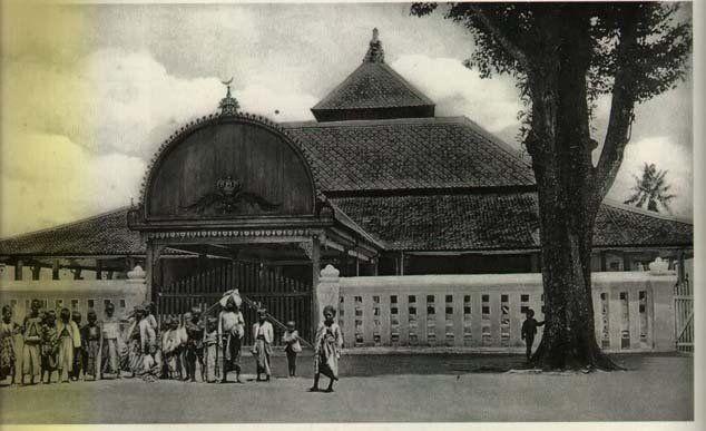 Masjid Agung Kauman tahun 1925