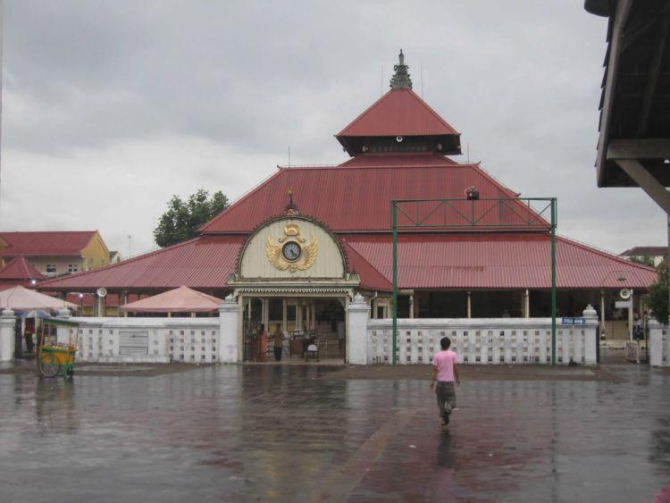 Masjid agung kauman masa kini