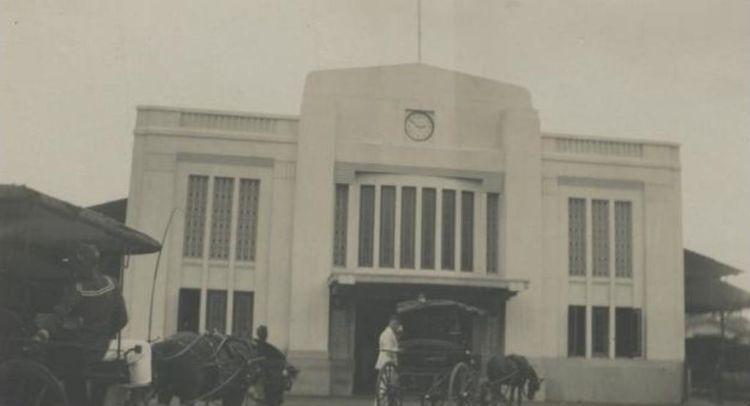 Stasiun Tugu Yogyakarya tahun 1935