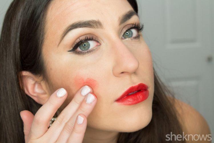 tinted lip balm sebagai blush