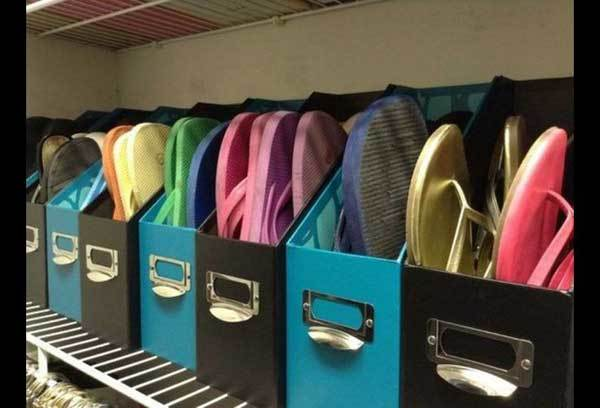 Folder rak sepatu