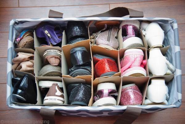 Keranjang rak sepatu