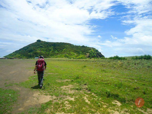 Jalan menuju Bukit Domba